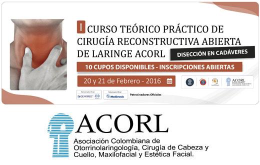I Curso teórico práctico de cirugia reconstructiva abierta de ...