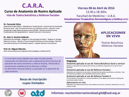 C.A.R.A. Curso de Anatomía de Rostro Aplicado