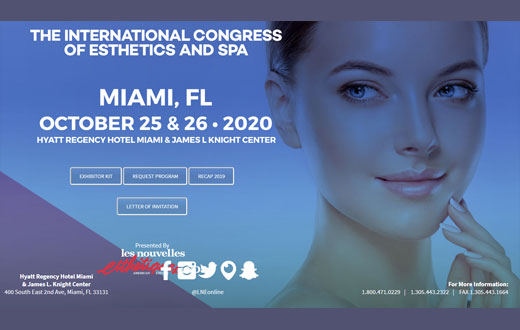 The International Congress of Esthetics and Spa Miami 2020